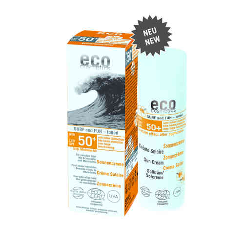 Eco Surf & Fun Sonnencreme LSF50 getönt / 50ml