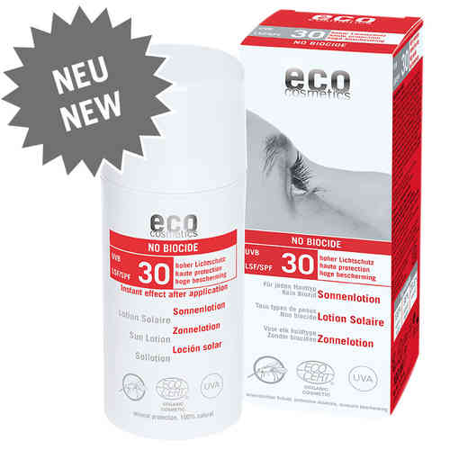 "eco Sonnenlotion ""no Biocide"" LSF30 - 100ml"